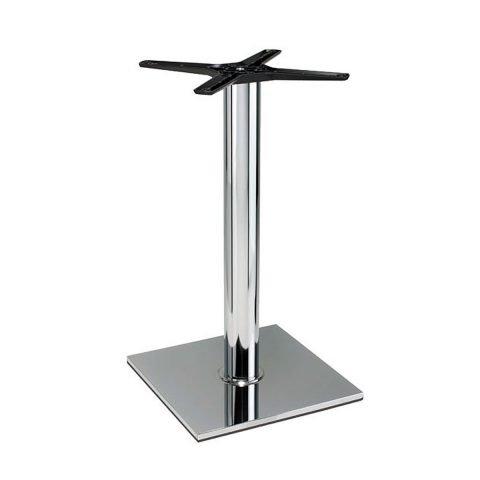 base tavolo in acciaio cromato mod 400/CR