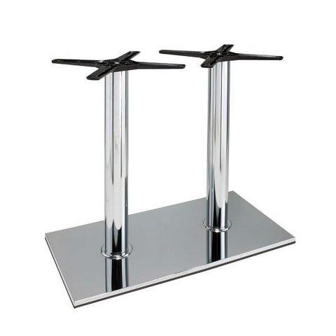 base tavolo in acciaio cromato mod 405/CR