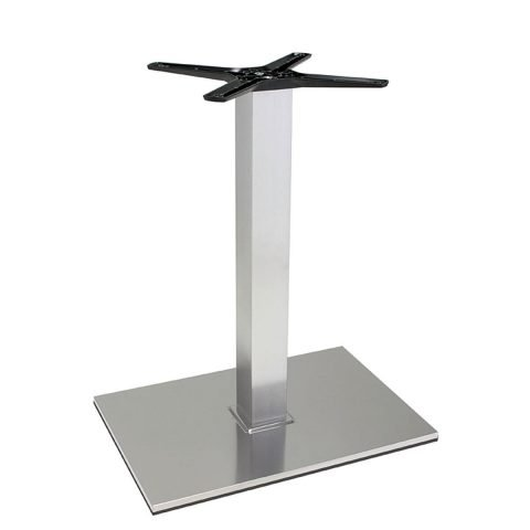 base tavolo in acciaio satinatomod 405QS/ST