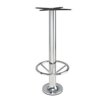 base tavolo con fissaggio a terra mod 414/CR/A/DREAM