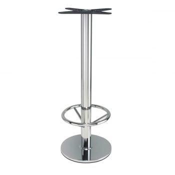 base tavolo in acciaio cromato mod 430/CR/A/DREAM