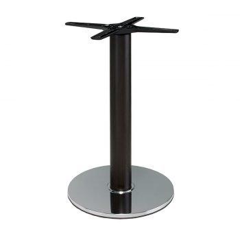 base tavolo in acciaio cromato mod 430/CR/L