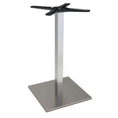 base tavolo in acciaio satinatomod 500/ST