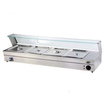 Espositore bagnomaria 4 vasche BAG01623