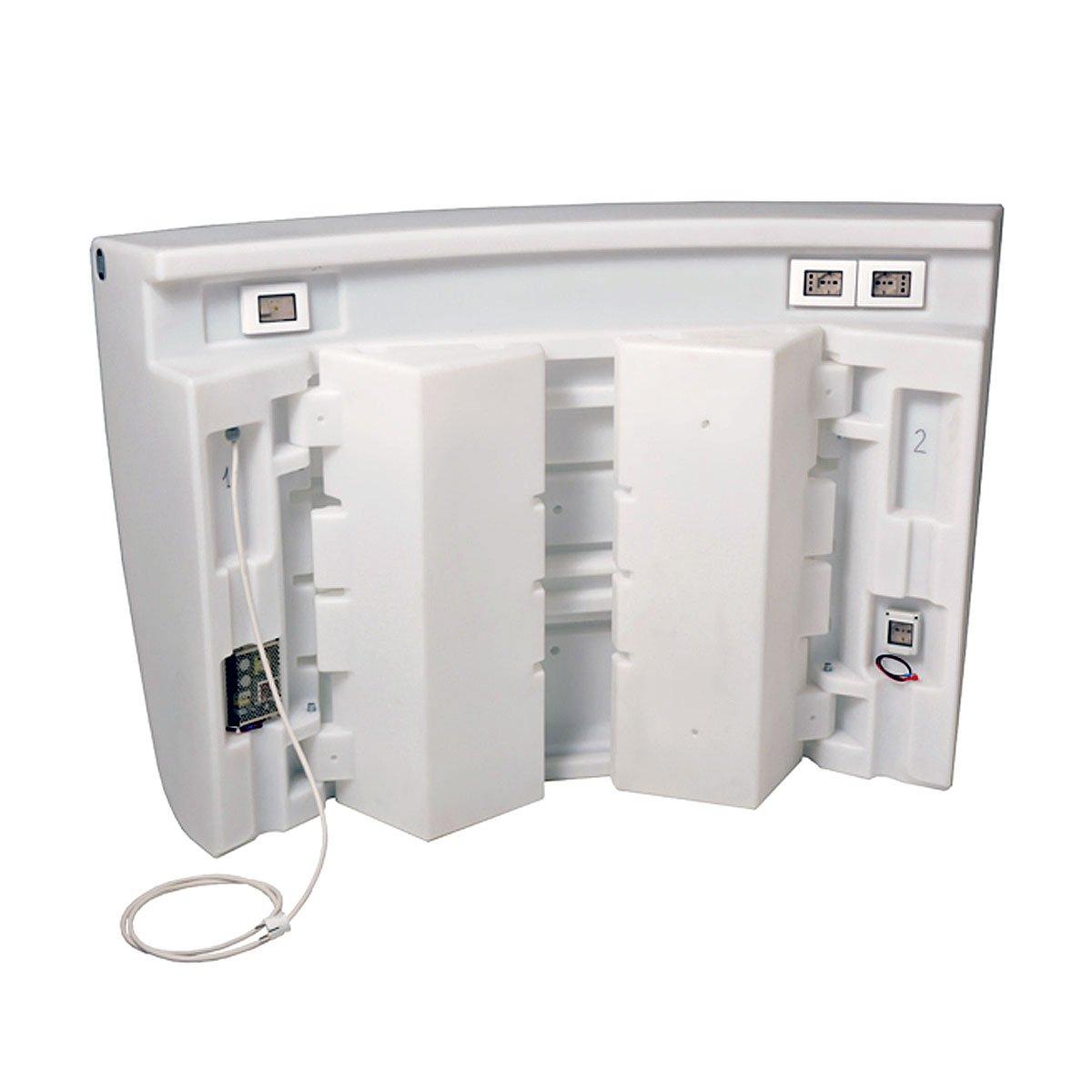Kit illuminazione led e impianto elettrico per bancone bar for Impianto esterno elettrico