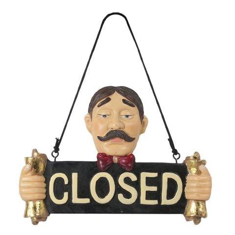 cartello porta chiuso stilcasa LBU-CL