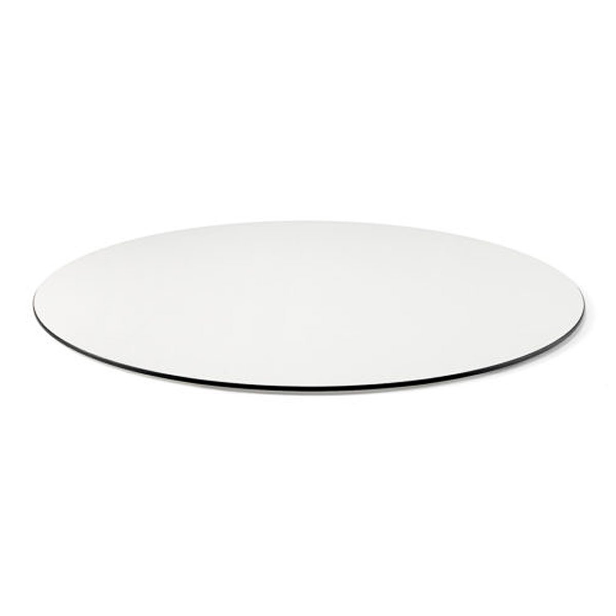 Piano tavolo tondo in laminato • Ø79cm • Spessore 1cm • EdO